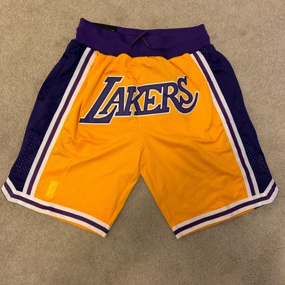 adidas Other - Just don Los Angeles Lakers shorts